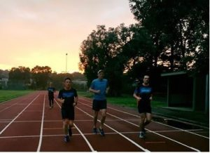 Track Run @ Willinda Park athletics track, Greensborough